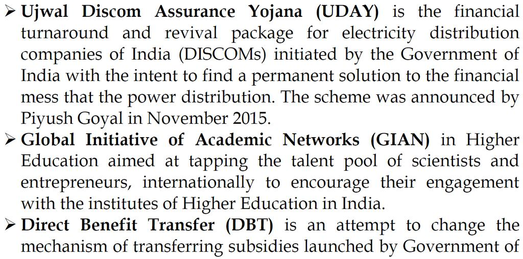 Integrated Power Development (IPDS) scheme launched by Modi Government is basically a new avatar of