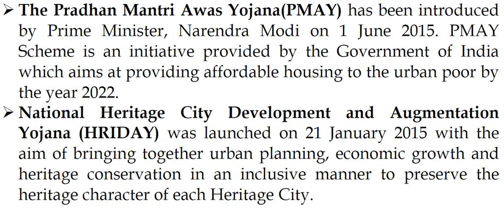 The Shyama Prasad Mukherji Rurban Mission (SPMRM) is a scheme launched by Government of India in 2016 to deliver integrated project
