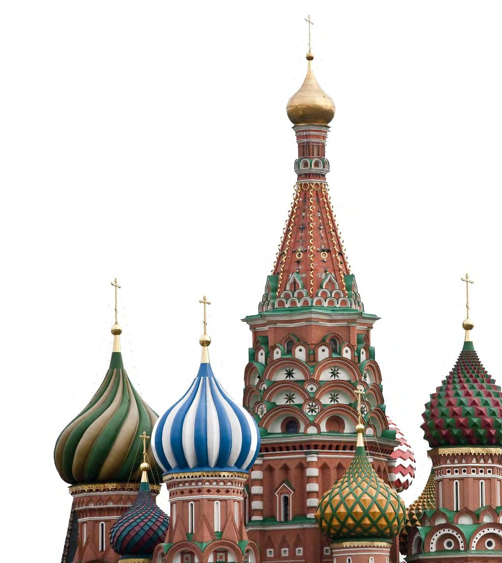 The Opportunity Russia is a hard asset economy which will benefit from a