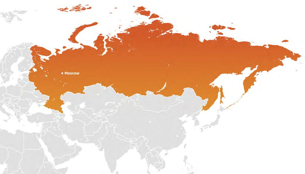 Geography and Demography Russia is the world s largest country geographically covering eleven time zones and it is