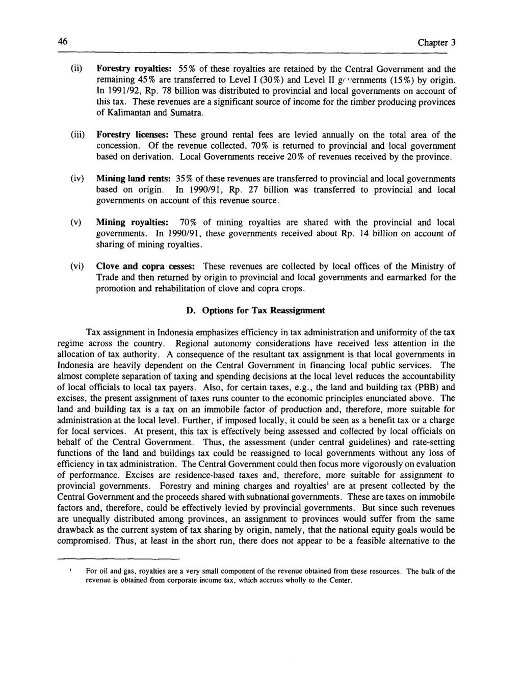 239 E World Bank Discussion Papers Pdf Voucher Rp2500000 46 Chapter 3 Ii Iii Iv Forestry Royalties 55