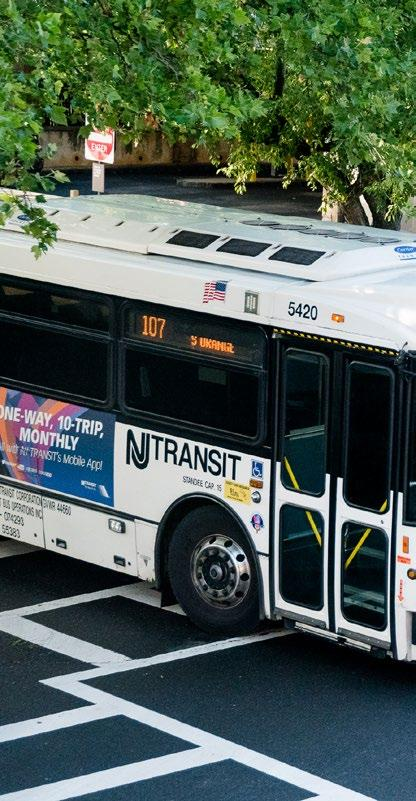 Committed to REGIONAL PRO$PERITY  Through Transportation NJ TRANSIT
