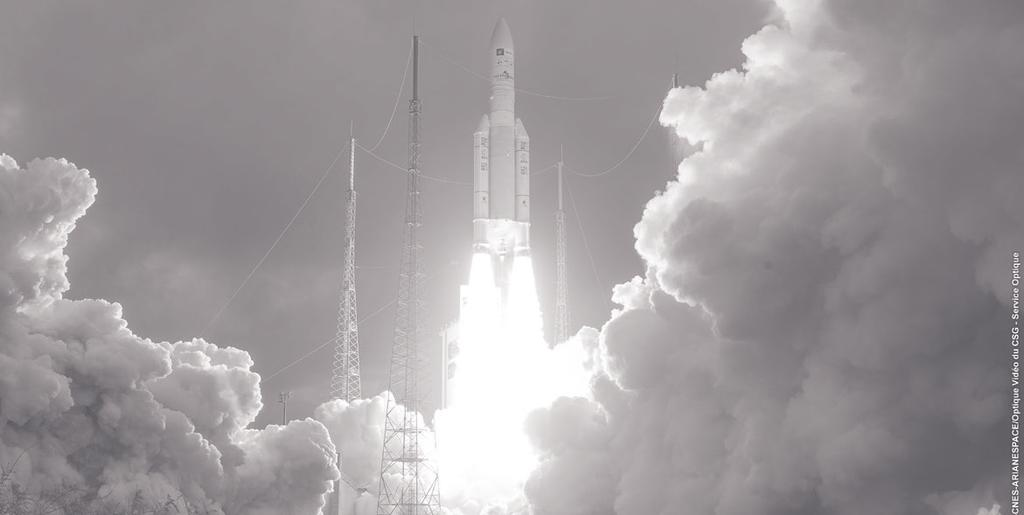 Successful launch of Ariane 5 on December 21, 2016.