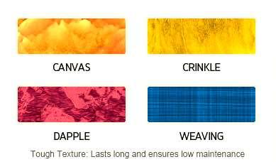 It is only applied to full grain, pigmented and corrected grain leathers.