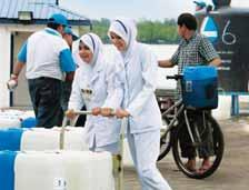 Quake in Sumatra, tremors in Malaysia). Our Group had reached out by supplying clean, potable water to the earthquake victims at Padang, Indonesia on 6 October 2009.