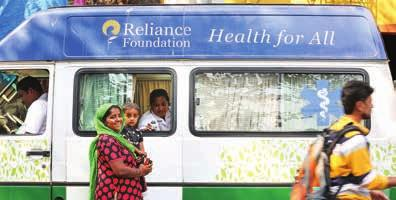 Nita M. Ambani, Reliance Foundation has a comprehensive approach towards the nation's development.