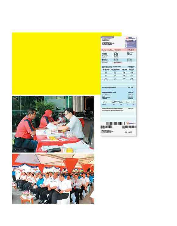 Energy Incorporated OPERATIONS REVIEW DISTRIBUTION New Electricity Bill TNB has redesigned its electricity bill to be more transparent and informative.
